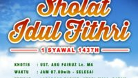 Khutbah Ied 1437 H